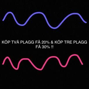 KÖP TVÅ PLAGG FÅ 20% , KÖP TRE PLAGG FÅ 30% & KÖP FLERA FÅ ETT PAKETPRIS!!❤️😊