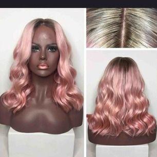 En oanvänd peruk med babyhairs och lace front<3 sjuuuukt naturtroget hår, trasslar sig inte och är jättemjukt! Inköpt för 799kr från amazon