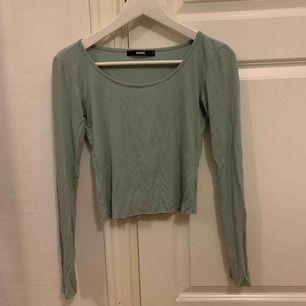 Mintgrön tröja från bikbok i storlek S. Knappt använd och i bra skick. Frakt tillkommer⭐️