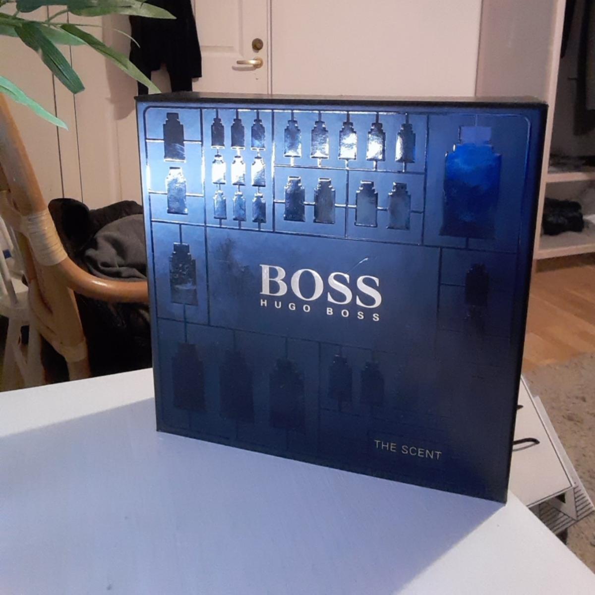 Hugoboss parfym helt ny köpt från Åhléns den är till salu . Övrigt.
