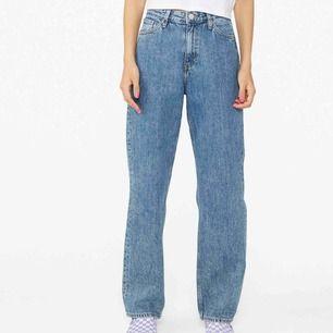 As snygga jeans ifrån monki. Säljes då dom är för stora för mig.