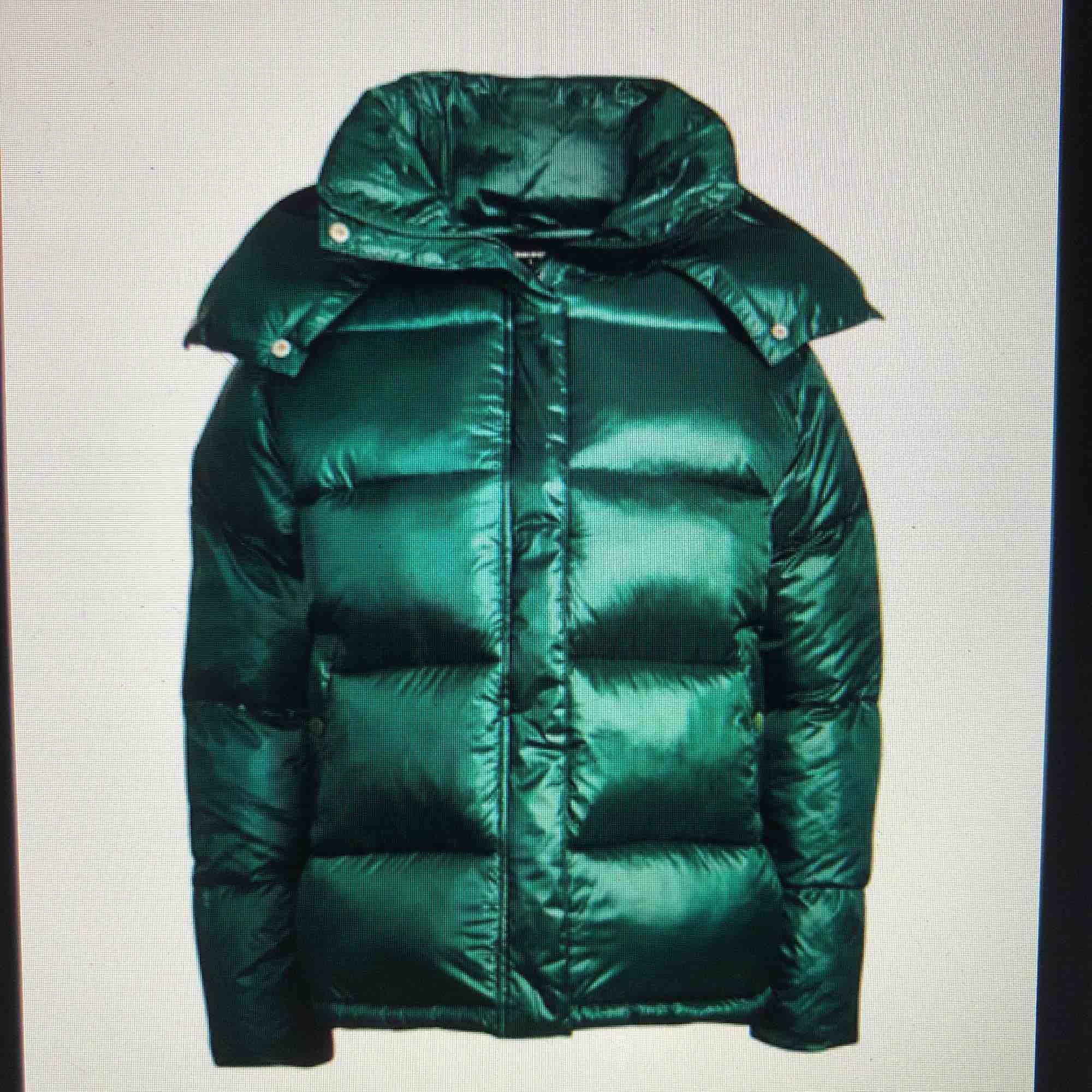 Supersnygg och trendig mattglansig grön dunjacka ifrån BikBok. Bra skick!! Möts upp i sthlm/ danderyd annars står köparen för frakten vilket ligger på 100+ kr. . Jackor.