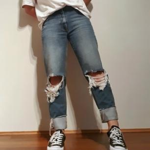 Jeans i straight fit/ jag är 165 cm lång