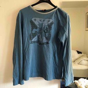 Blå tunn sweatshirt , second hand  Aldrig använd av mig