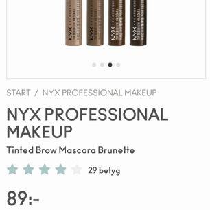 """Nyx tinted brow mascara """"brunette"""" Helt ny och oanvänd, nypris 89kr. Säljes för 60kr"""