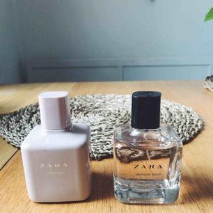 Två parfymer från Zara, knappt använda. Säljes pga fått en ny parfym.  Båda luktar supergott, de är lite för starka för min smak bara. Jag säljer alltså båda 2 för 100kr