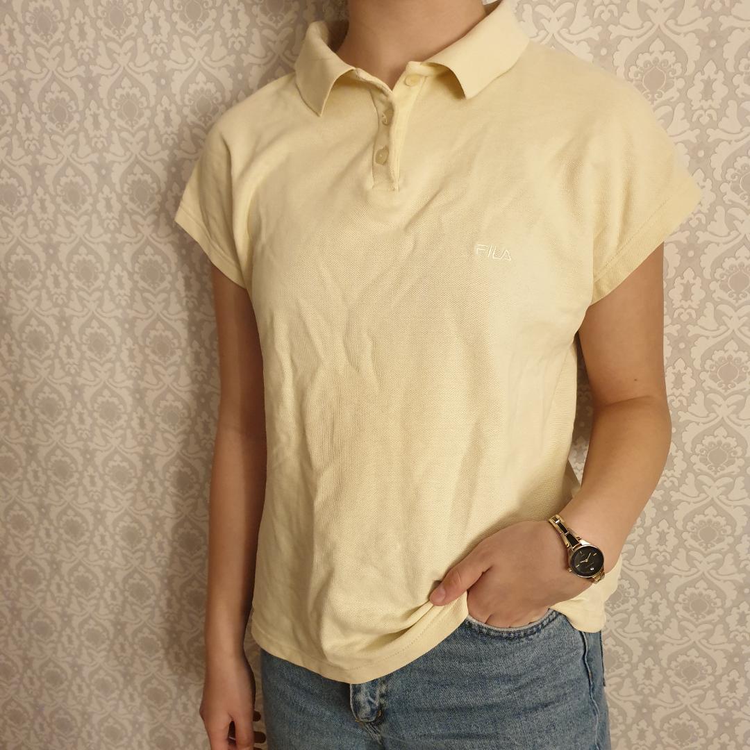 Vintage fila pikétröja köpt på beyond retro. Kan fraktas. T-shirts.