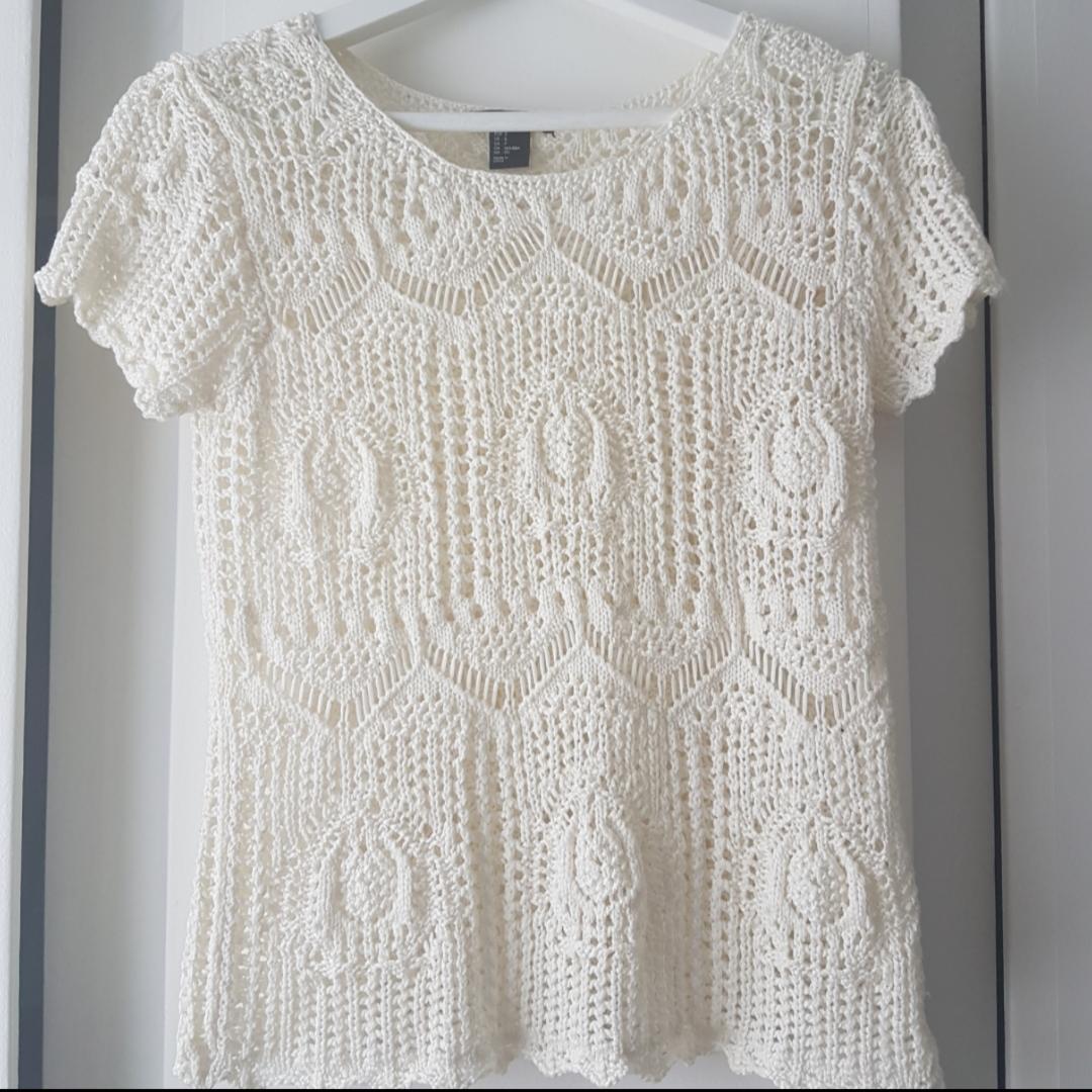 Virkad tröja från H&M 🌟. Toppar.