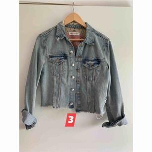 Aldrig använd jeans jacka från H&M