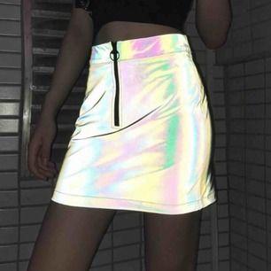 Holografic kjol Skit ball!