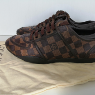Louis Vuitton Boogie Damier Ebene Sneakers, excellent condition, dustbag, 100% authentic, size 37.5 / insole 24.5cm, write ,e for more info and pics :)