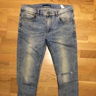 Stentvättade jeans från Zara i gott skick. Size: S/M  ~~  📍 Varje plagg tvättas innan utskick.