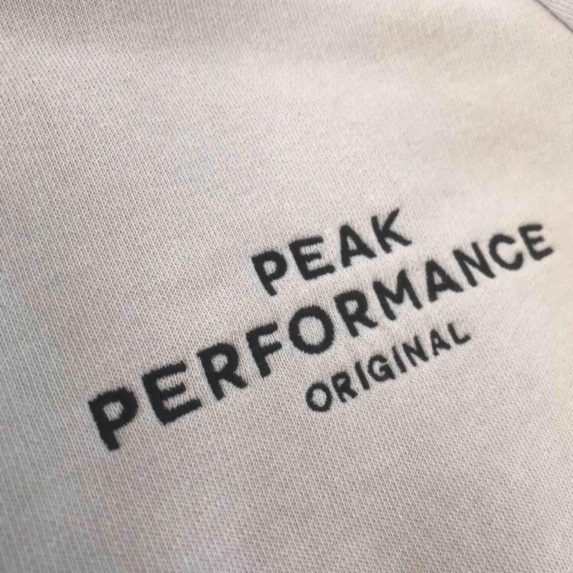 Peak performance kofta vit storlek S. Huvtröjor & Träningströjor.