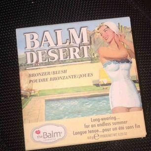 """HELT NY! The balm """"Balm Desert"""" Oöppnad, säljer då jag redan har dubbletter. Kan mötas i Örebro annars kan jag frakta. Nypris, 249kr"""