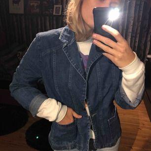 Sjukt cool vintage jeans jacka