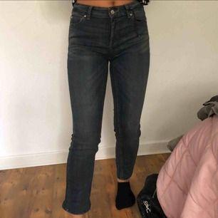 Blåa Jeans, aldrig använda. Storlek 25. Vet ej vilket märke. Säljs pga ingen användning.  Pris kan diskuteras
