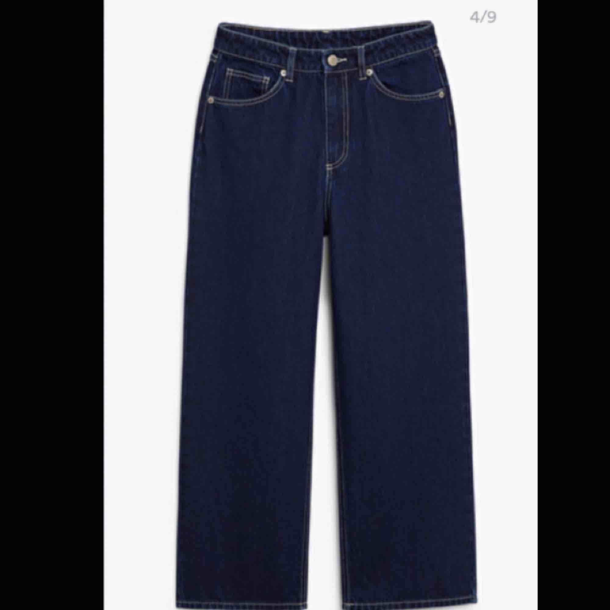 Säljer mina monki jeans. Modellen heter mozik. Använt dom 2 gånger så dom är som nya. Säljer dom för att de är för stora. . Jeans & Byxor.