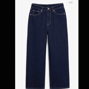 Säljer mina monki jeans. Modellen heter mozik. Använt dom 2 gånger så dom är som nya. Säljer dom för att de är för stora.