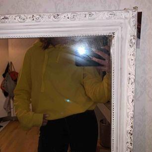 En gul snygg hoodie från Gina Tricot 💓💓 nypris 200kr. Säljer pga av, tröttnat & använder aldrig längre. Köparen står för frakt 💘
