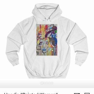 Jag säljer en vit hoodie från thecoolelephant, nästintill oanvänd, jätte bra skick 💕💕