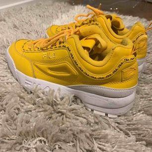 Super coola fila skor! Aldrig använda pågrund av att jag löpte fel storlek. Köpta i USA för 1200kr pris går att diskutera vid snabb affär. Skriv ifall ni har fler frågor. Köpare står för frakt. :)