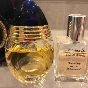 Boucheron Femme, EdT är en lättare version av Boucheron Femme, EdP. En klassiskt blommig och orientalisk doft . Edt 30 ml köpt för 450:-  Emma S- Rue De Varenne En EdT med toppnoter av liljekonvalj och päron, Edt 30ml, köpt för 399:-