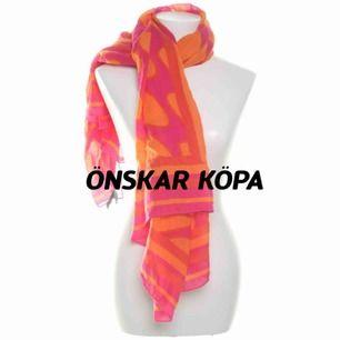Önskar köpa denna sjal från Marimekko H&M.