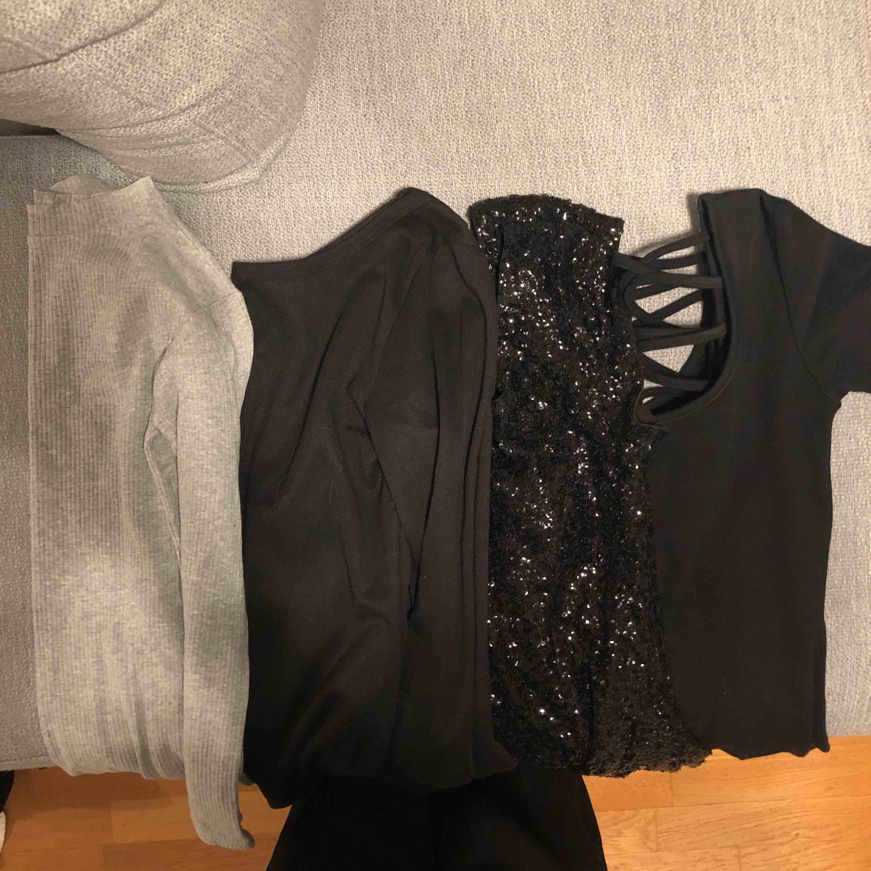 Har en del små korta klänningar vill ni har fler bilder så skicka meddelande. Tänkte 50kr /st  märken bla. Bikbok, monki, hm. Klänningar.