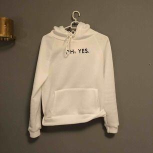 Vit hoodie