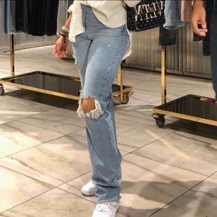 Skitsnygga trendiga jeans strl 34, fraktar inte Om nån har de i strl 36 skriv gärna