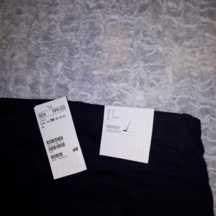 Vanliga svarta jeans från H&M som är helt oanvända!🍁