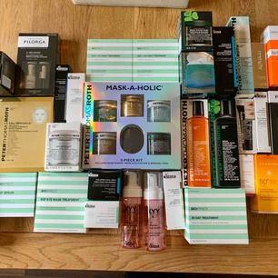 Blandade Hudvårdsprodukter från välkända märke, allt säljs i obrutna förpackningar.  Jag Har produkter för varje hudtyp och problem. Är själv utbildad hudterapeut så om du behöver hjälp med vad som passar just dig så skicka gärna ett meddelande