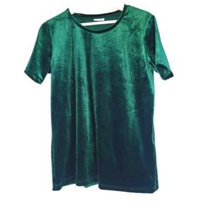 Smaragdgrön sammetströja. Superfin och trendig. Frakt tillkommer på 27 kr ❤
