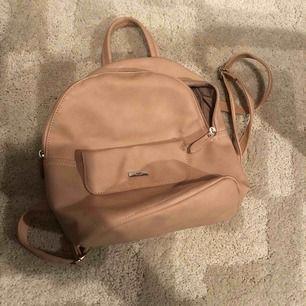 Gammel rosa ryggsäck i mini! Frakt tillkommer!