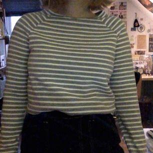 collegetröja, grå och vit, storlek S