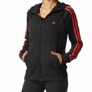 Adidas Essentials 3-stripes hoodie / kofta. Storlek XS.