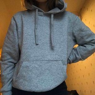 Supermysig grå hoodie i perfekt skick. (Lägger upp igen med bättre bilder☺️)
