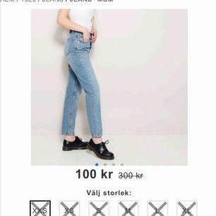 Fina mom jeans från lager 157! Sparsamt använda, och de är dessutom slut i lager så passa på 💕 frakt tillkommer, men möts även upp