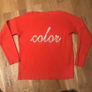 Stickad tröja från Promod. Knappt använd. Köparen står för frakt
