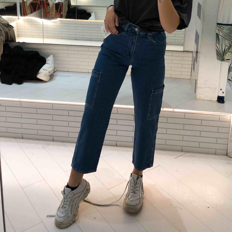 Jeans från PULL&BEAR strl 32! Frakt tillkommer💕. Jeans & Byxor.
