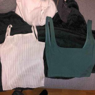 Två linnen en från hm och den andra från bikbok, fråga om fler bilder om det skulle behövas!