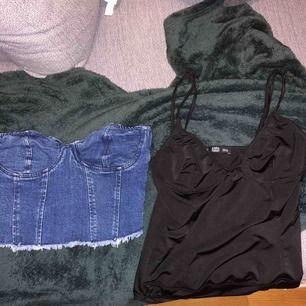 En body och en jeans topp! Från zara och Gina!