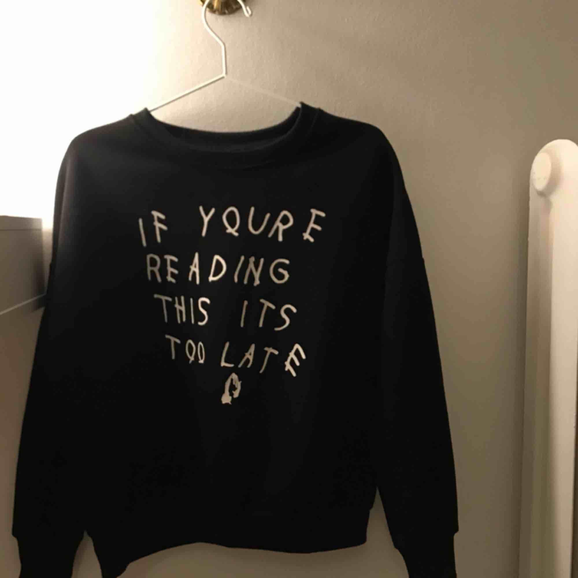Ascool sweatshirt med tryck från Drakes album❤️. Huvtröjor & Träningströjor.
