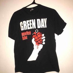 Green day american Idiot t-shirt stl M.  Betalning sker via swish. Köpare står för ev. Frakt!