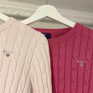 två st kabelstickade tröjor ifrån GANT.