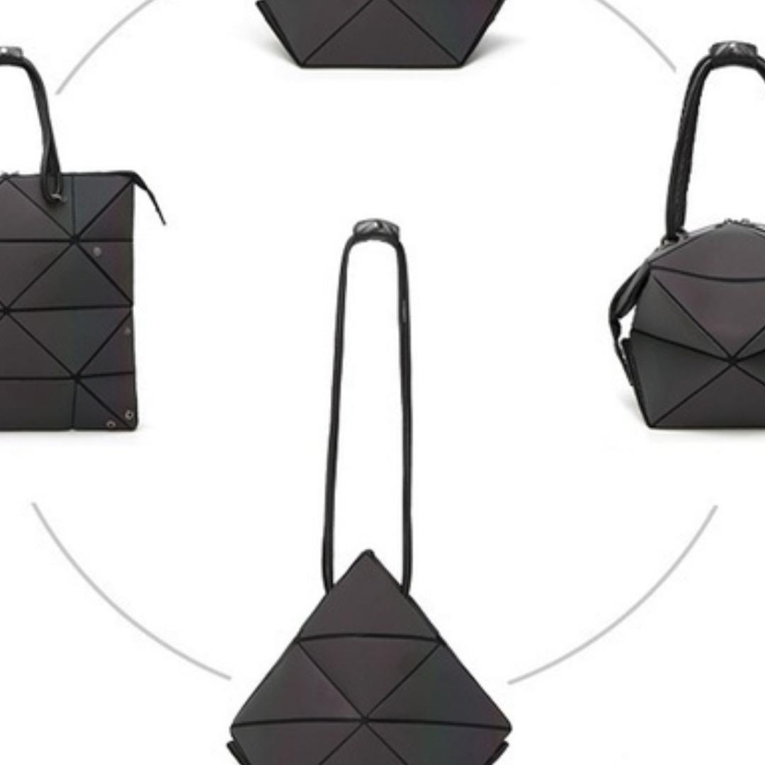 Women Matt Bao Bag Transforming bag Women Bags For Women Luminous Geometric Ladies Crossbody Shoulder Bag Deform Tote Bag  . Väskor.