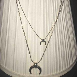super fint roseguld halsband