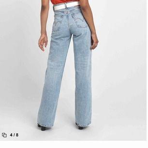 Intressekoll!! Levis wife ribcage jeans,nyligen köpta!!!