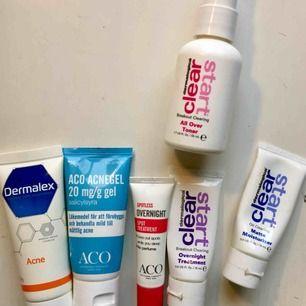 Beskrivning och pris på bilderna 🥰 OBS: På sista bilden syns inte riktigt produkterna, men man kan se dem i första bilden.