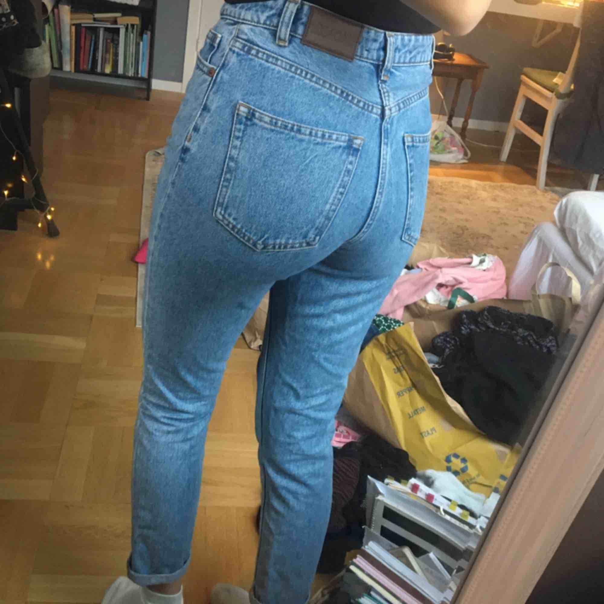 jeans från Monki! storlek S. 150 kr inklusive frakt:) . Jeans & Byxor.
